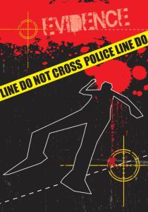 Cartel de escena de crimen