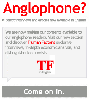 Advert for anglophone readers