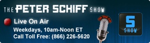 Banner for Peter Schiff Radio Show
