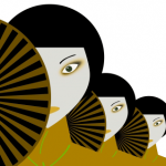 Image depicting japanese women