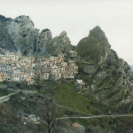 Photograph of Castelmezzano, Italy