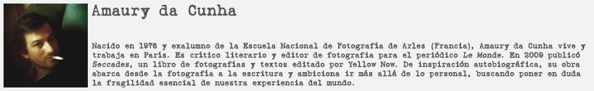 Retrato y biografía de Amaury da Cunha