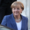 Picture of Angela Merkel at l'Elysée