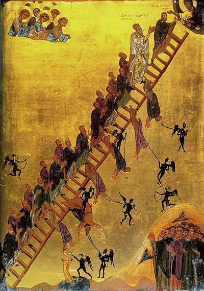 Imagen de Escala divina (icono, siglo XII)