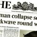 Lehman Collapse Frontpage