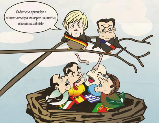 Viñeta de la semana: el próximo encuentro entre Merkel y Sarkozy