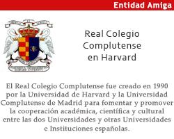 Entidad amiga: Real Colegio Complutense en Harvard
