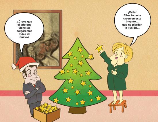 Navidad en la Euro Zona - Viñeta