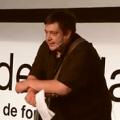 Fotografía de Hernán Casciari en Ted