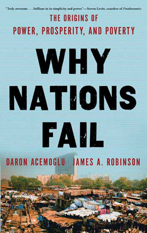 Why Nations Fail - book cover
