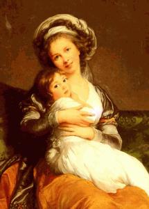 Marie-Louise-Élisabeth Vigée Lebrun y su hija