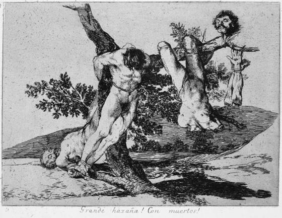 Goya, Los desastres de la guerra.