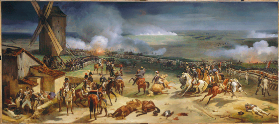 Horace Vernet, La batalla de Valmy (Francia).
