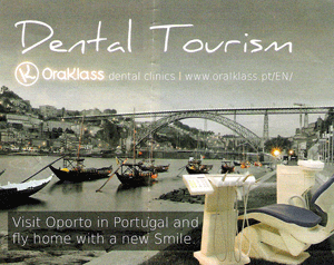 "Anuncio de OralKlass - ""Dental Tourism"""