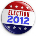 US Election 2012 - Badge