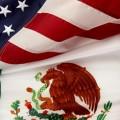 EE.UU - México - banderas