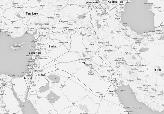 Syria (map)