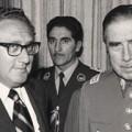 Henry Kissinger and Augusto Pinochet