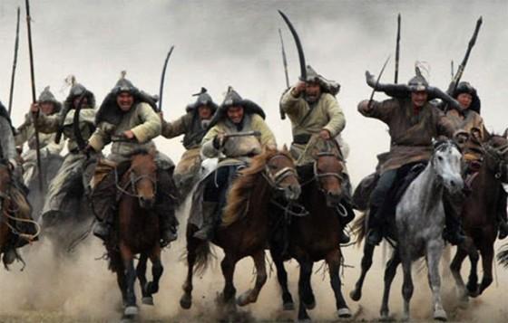 Las tribus de la estepa, como los mongoles, llevaron su tecnología de guerra a los países de Oriente Medio