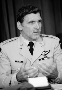 UNAMIR commander, General Romeo Dallaire