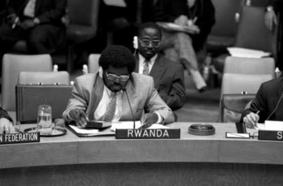 UN Security Council debate on Rwanda
