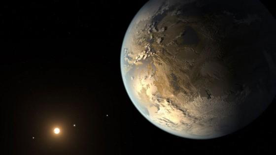 Reconstrucción del nuevo exoplaneta / NASA
