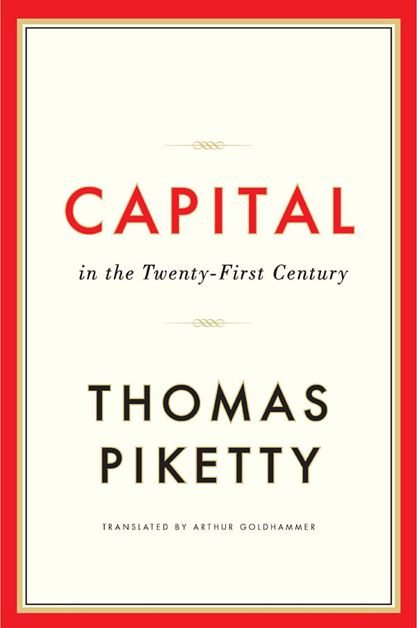 Capital In The 21st Century (book cover)