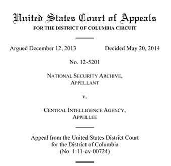 D.C. Circuit's decision