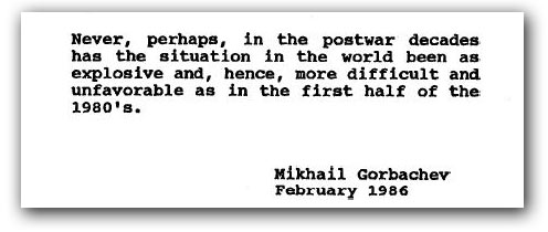 Gorvachev quote