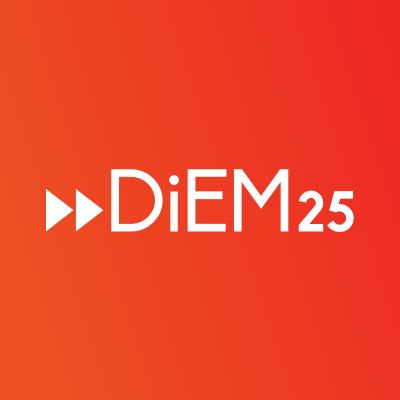 DiEM25 - Logotipo