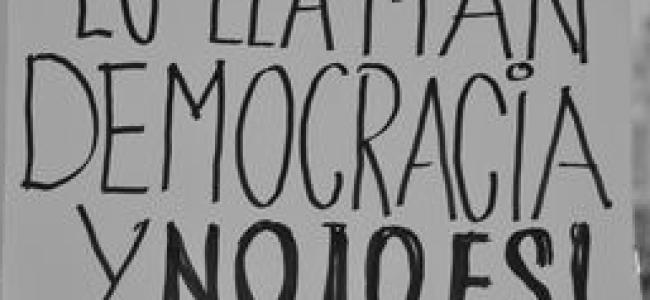 Democracia real (y libre mercado real) ya