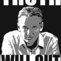 Julian Assange - WikiLeaks banner