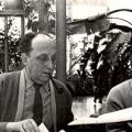 Chernyaev and Georgy Arbatov in Zavidovo